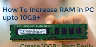 increase RAM in PC esily 2016