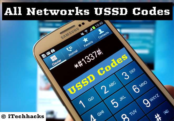 USSD Codes of All Networks - airtel | vodafone | reliance | BSNl 2016