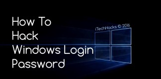 hack windows password all windows