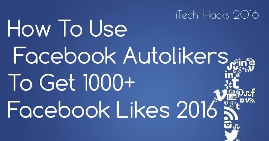 How To Use Facebook Autoliker