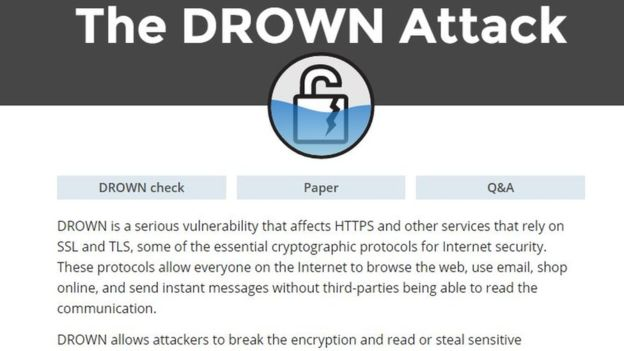 drown attack hacks thousands popular websites