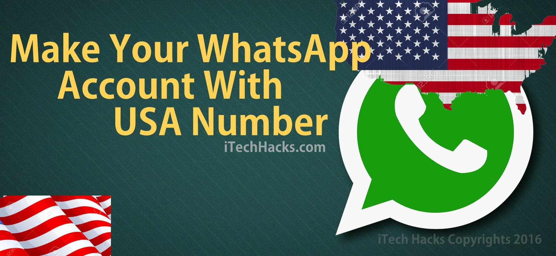 Get USA (+1) Phone Number for WhatsApp Accounts (Working 2019)