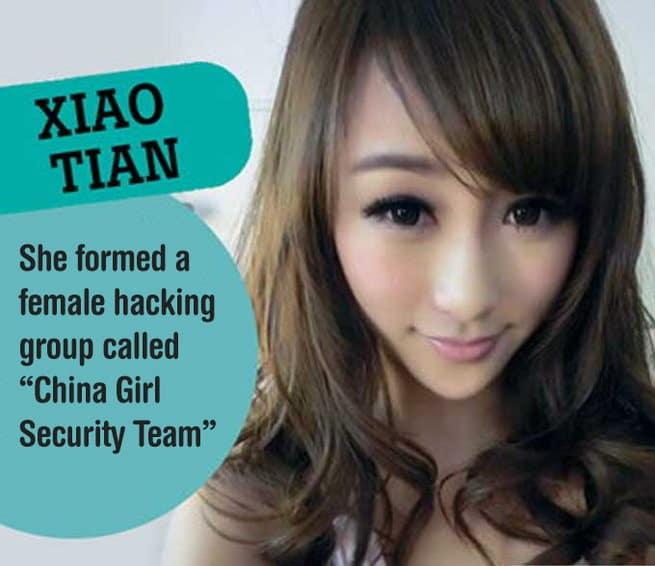 Xiao Tian -- Sexiest Female Hackers - itechhacks.com
