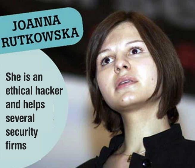 Joanna rutkowska Sexiest Female Hackers