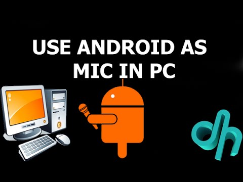 How To Make Android Phone As PC Microphones (Top Microphone