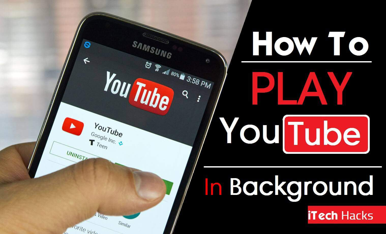 (8+ Apps) Play Youtube Videos In Screen Off Mode Android & Ios