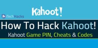 kahoot hack 2017