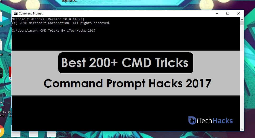 Top 200+ Best CMD Tricks,Tips And Hacks Of 2019 (CMD StarWars)