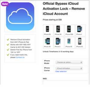 download icloud remover advanced unlock tool