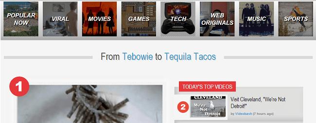 Alternative for YouTube