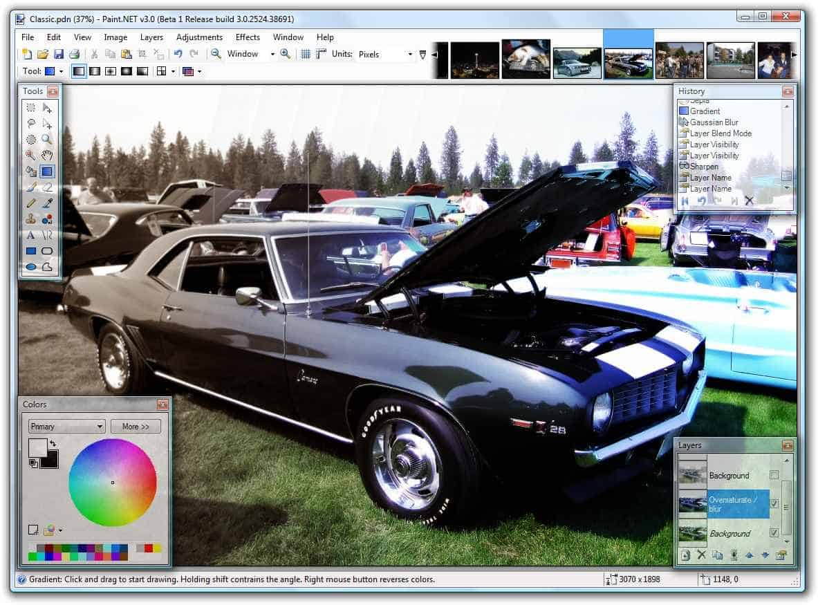 Best Photo Editing Software similar to MS Paint