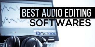 Top 5 Best Audio Editing Softwares.