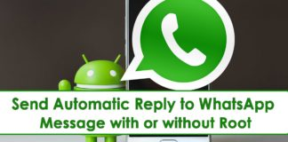 How To Send Automatic Reply to WhatsApp Message in Android