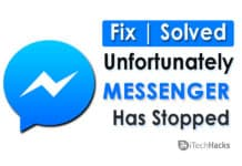 How To Fix Unfortunately Messenger Has Stopped?