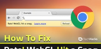 "How To Fix ""Rats webGL Hit a Snag"" in Chrome Browser 2018 
