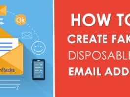 How To Create Fake Disposable Email Address Unlimited?