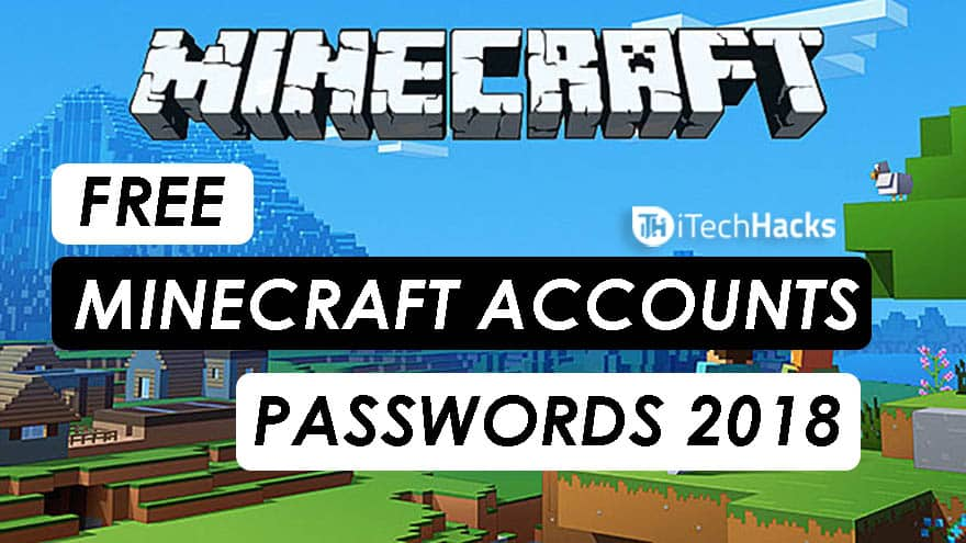 50+ Free Premium Minecraft Accounts & Passwords 2018