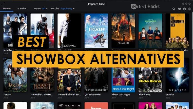 Top 5 Best Alternatives to Showbox 2018