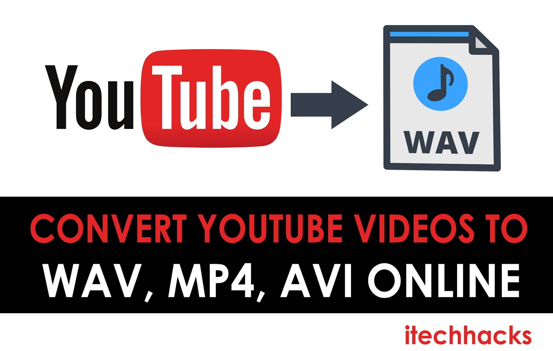 How To Convert YouTube videos to WAV, MP4, AVI Online