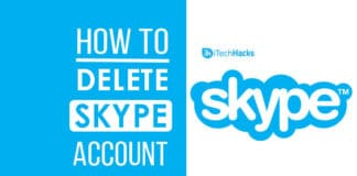 How to Permanently Delete a Skype Account?