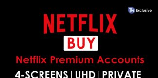 Buy Netflix Premium Accounts at Rs. 150