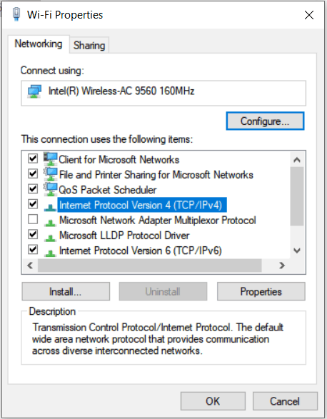 Fix for WiFi Connected but No Internet