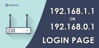 192.168.1.1 Login Page, Username, Password, and Settings