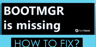 Fix BOOTMGR is Missing Windows 7, 8, 10 (6-Methods)