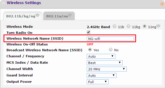 What is SSID?