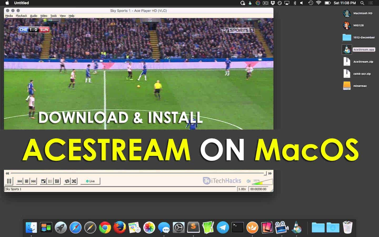 Download And Install Acestream on MacOS - Play Acestream Links
