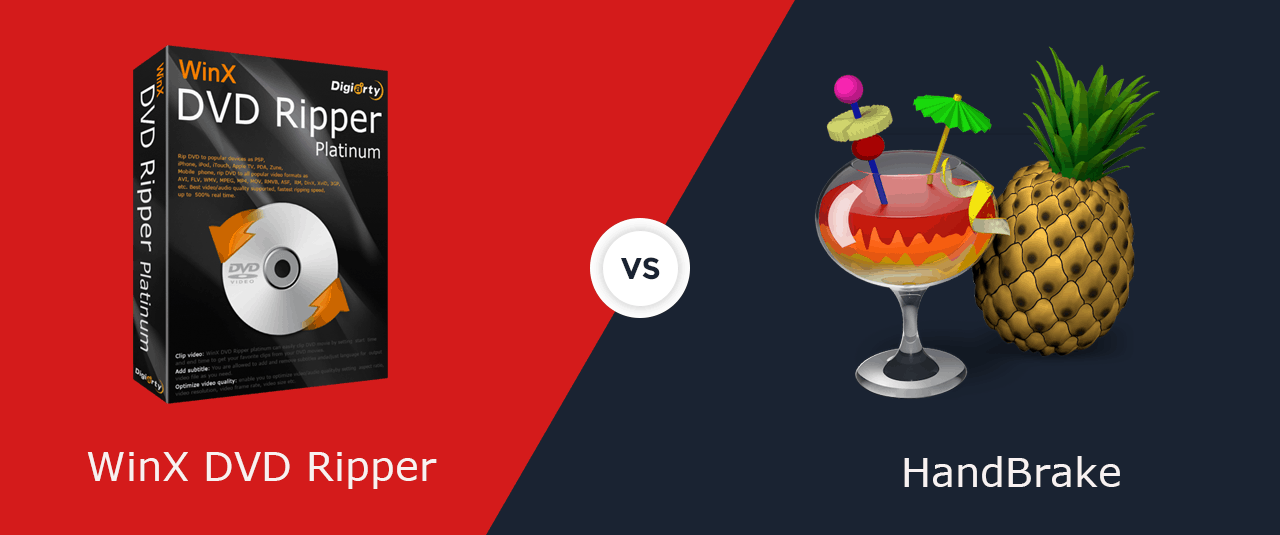 2019 Best Free DVD Rippers Comparison: HandBrake vs. WinX DVD Ripper