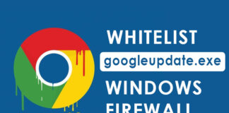 How to Whitelist Googleupdate.exe for Windows 7/8/10