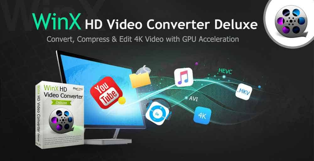 How to Convert 4K Video to MP4 and More Flawlessly with WinX HD Video Converter Deluxe