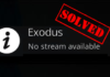 How to Fix Exodus Not Working Error on Kodi