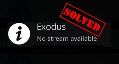 How to Fix Exodus Not Working Error on Kodi