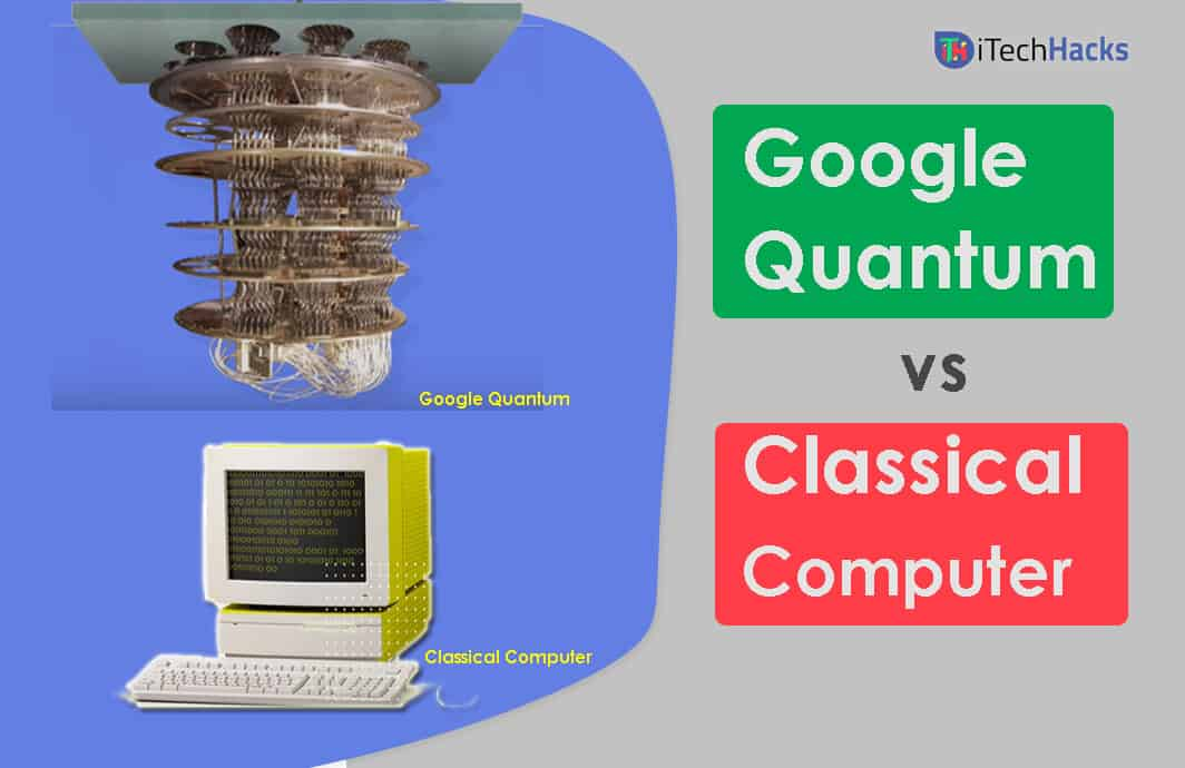 Google Quantum Computers and Classical Computers Difference?