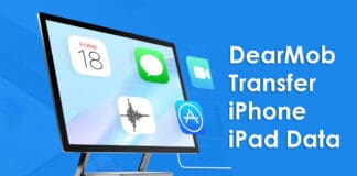 DearMob Offers Your A Safer Way to Transfer iPhone iPad Data