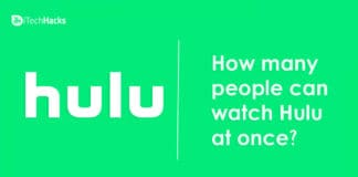 How Many People Can Stream Hulu Account at Once?