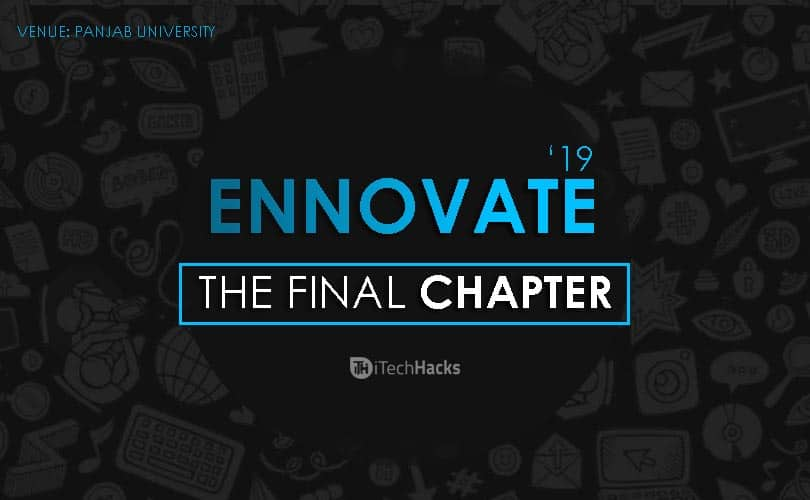 ENNOVATE'19: The Final Chapter 2019