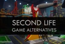 Top 8 Best Virtual Reality Games Like Second Life 2019