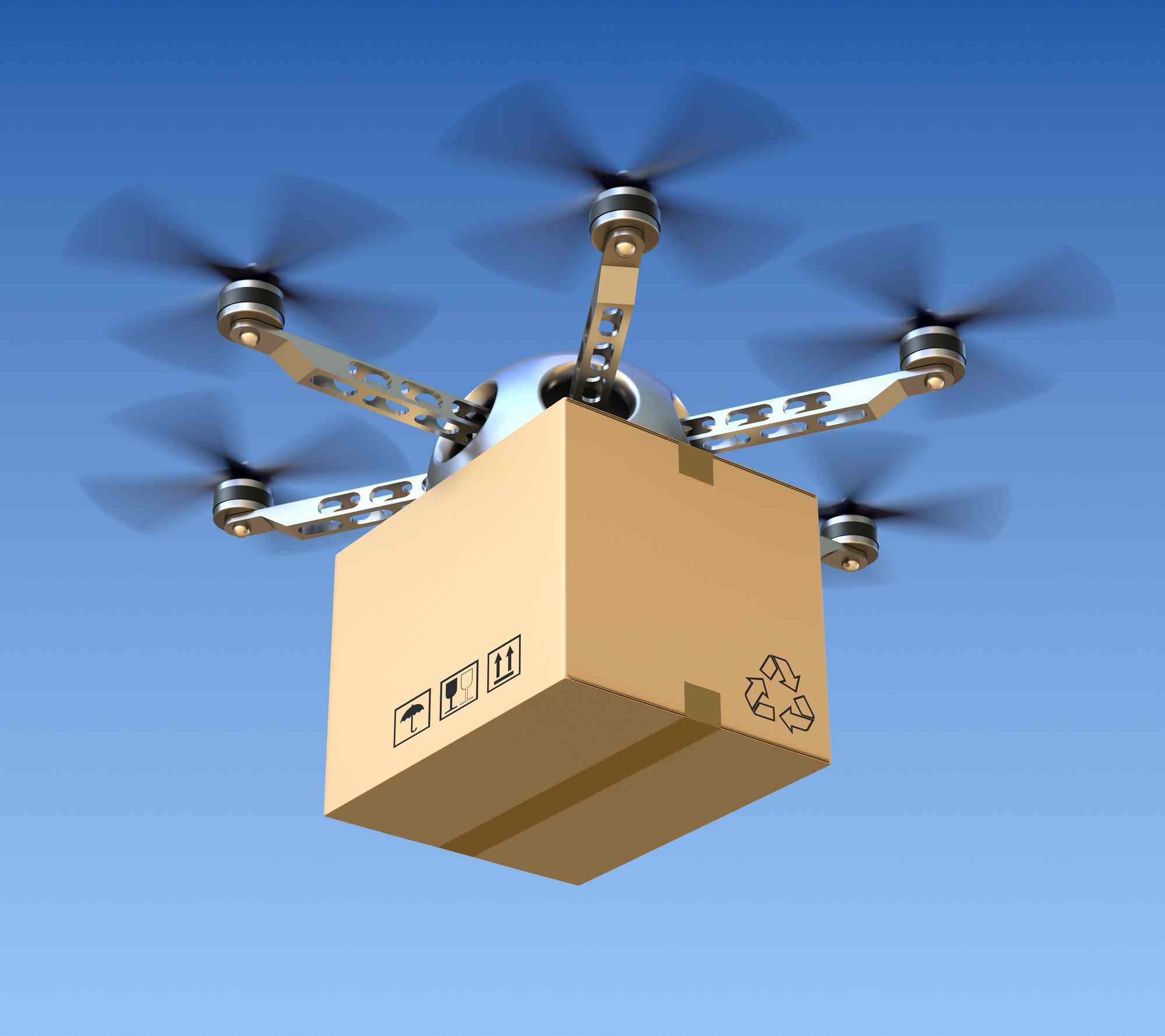 How Future Delivery Drones Will Deliver Your Packages