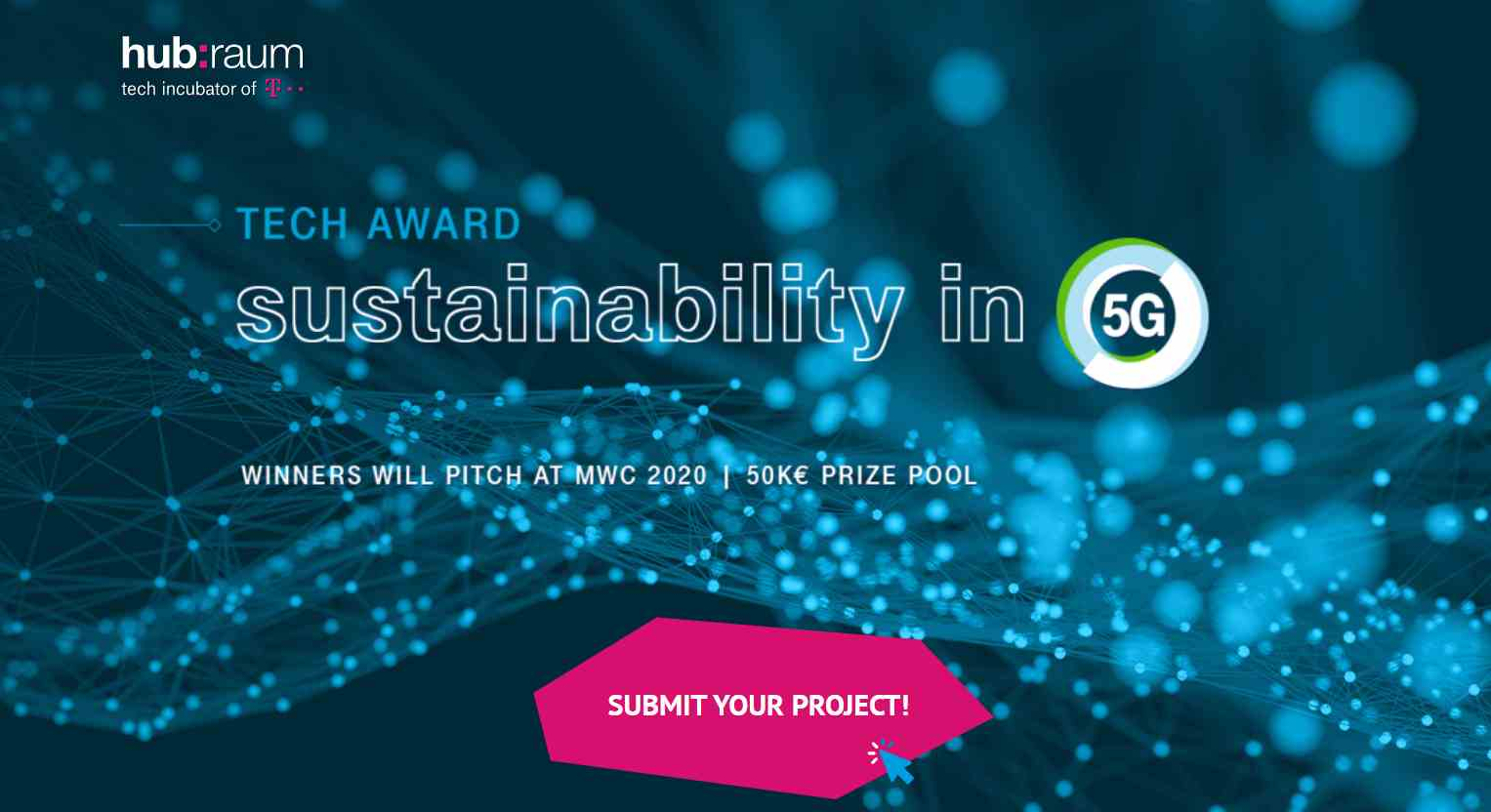 Deutsche Telekom Sustainability in the 5G Award At MWC 2020 Barcelona