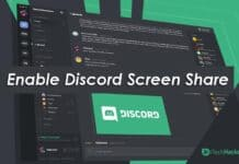 Steps To Enable Screen Share in Discord