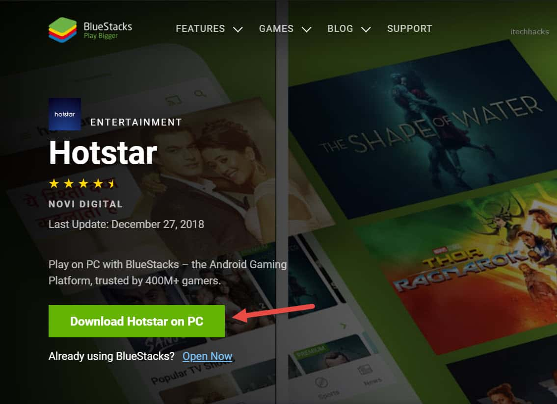 Download Hotstar for Windows PC/Laptop