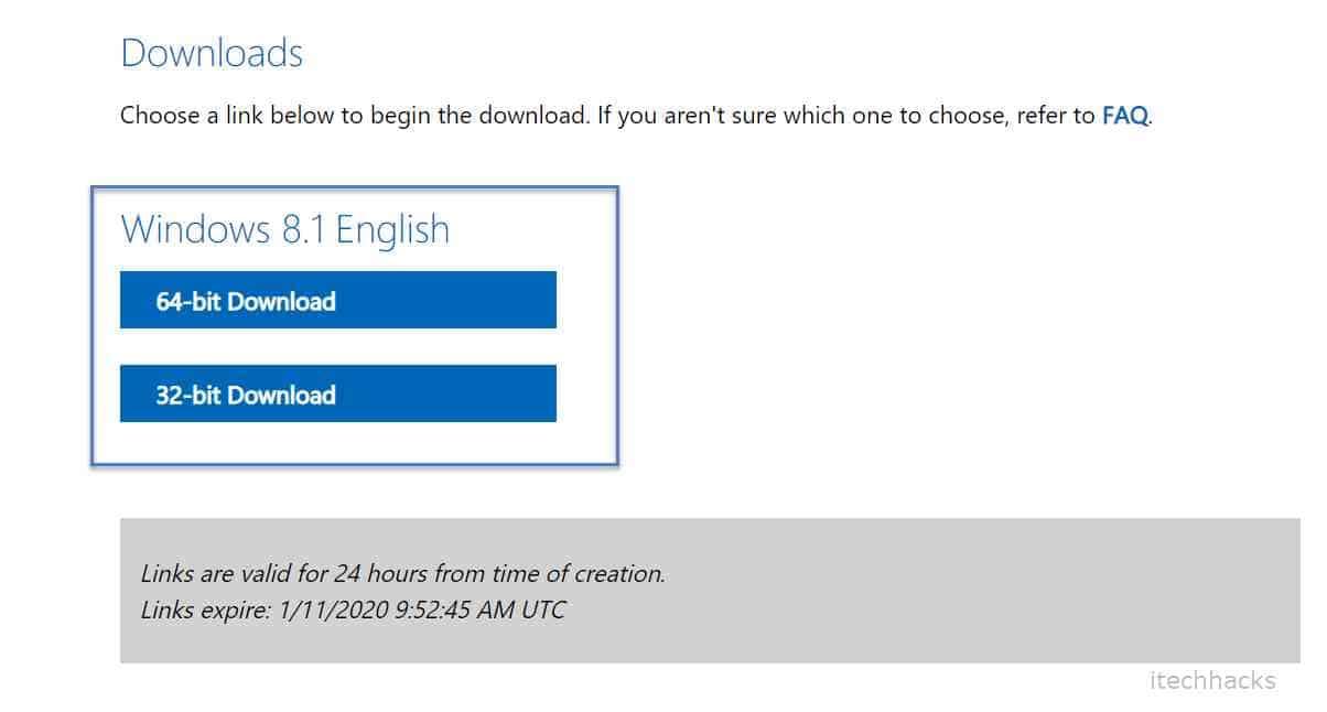 Download Windows 8 32 and 64 bit