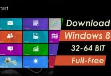 Download Windows 8 (32 Bit-64 Bit) Full Free 2020