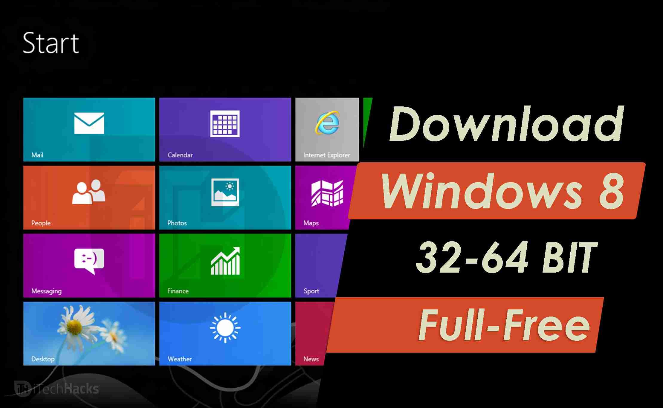 Download Windows 8 (32 Bit-64 Bit) Full Free