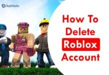 How To Delete Your Roblox Account