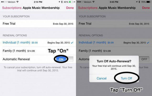 How To Cancel Free Apple Music Trial
