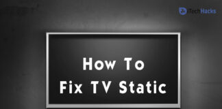How To Fix TV Static - Screen, Noise, Overlay, Effect